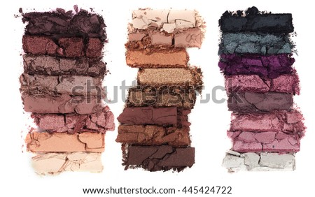 Crumbling Eye Shadow Swatches