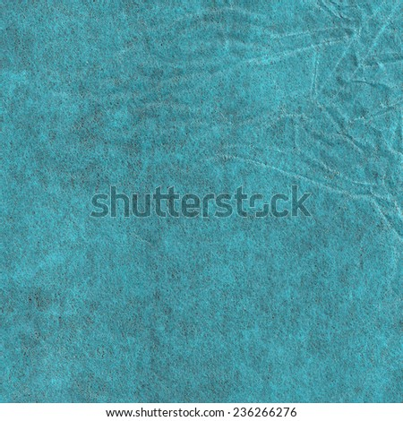 Crumpled blue grunge paper sheet. Wrapping paper texture. Realistic  texture for your design.