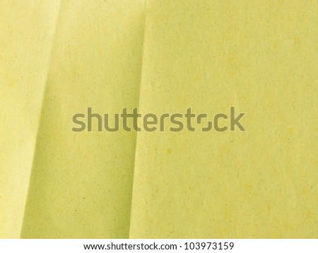 Crumpled brown paper texture for background
