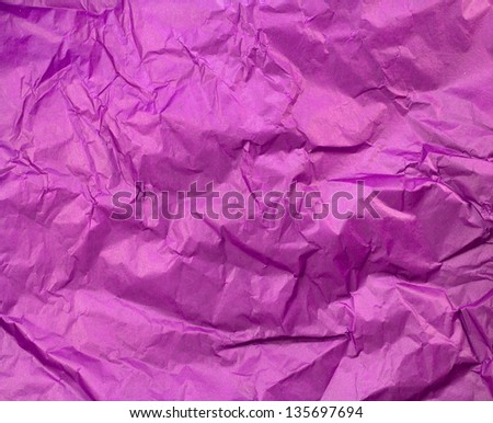 Crumpled colorful paper texture background #135697694