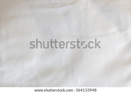 Crumpled fabric texture, cloth background  #364133948