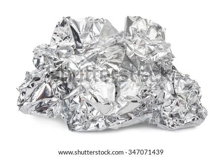 Crumpled foil #347071439