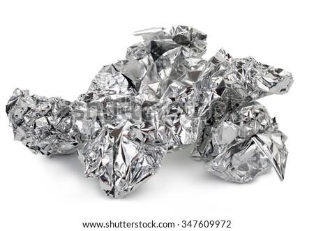 Crumpled foil #347609972