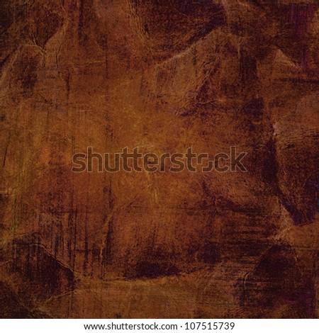Crumpled grunge paper texture