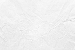 crumpled old pale grey kraft background paper texture