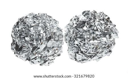 Crumpled paper. #321679820