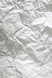 crumpled paper close up background