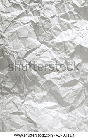 crumpled paper close up background