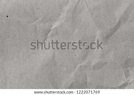 crumpled paper craft background color grey