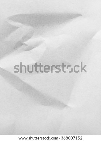 crumpled paper texture #368007152