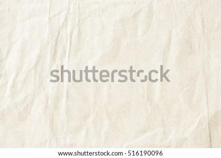 crumpled paper texture - Shutterstock ID 516190096