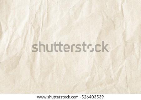 crumpled paper texture    - Shutterstock ID 526403539