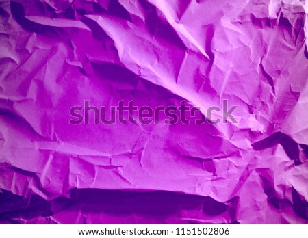 Crumpled paper texture background. #1151502806