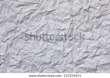 crumpled rice paper as background