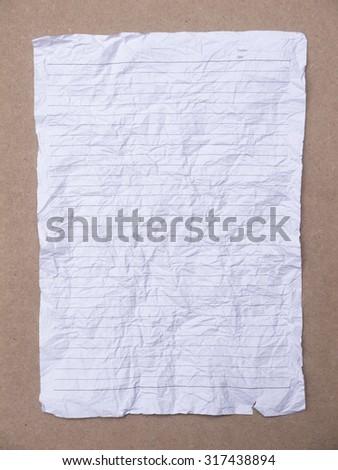 Dissertation Paper Stock