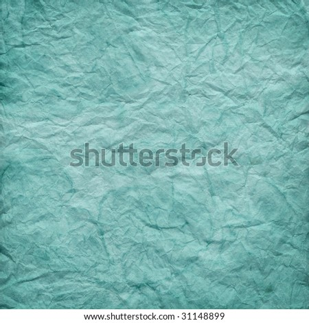 crumpled soft blue paper texture