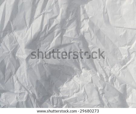 Crumpled tissue paper background texture