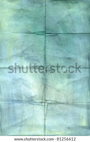 crumpled vintage paper  background