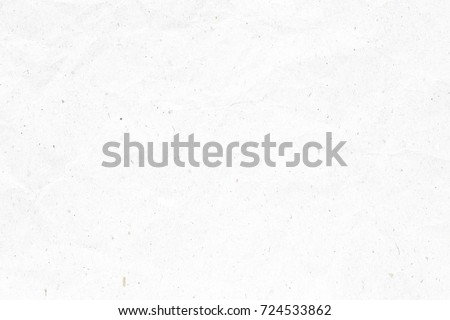 Crumpled white paper texture stock photo