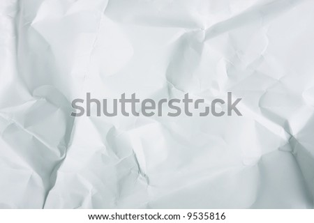 Crushed and dented background - perfect as either paper or metal background - stock photo