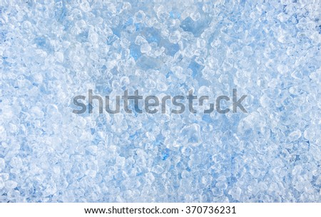 crushed ice pattern background. close-up.