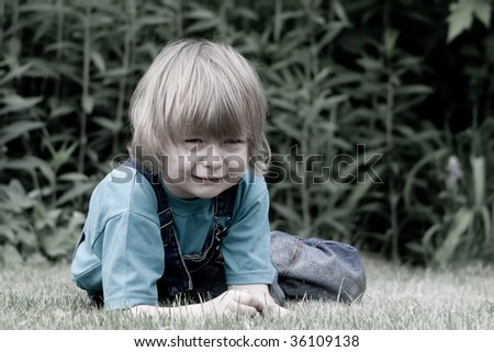 Cry - stock photo