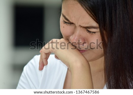Crying Attractive Minority Female