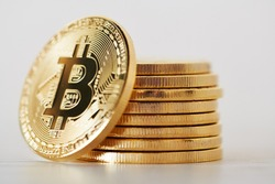 crypto currency business. bitcoin coin finance concept