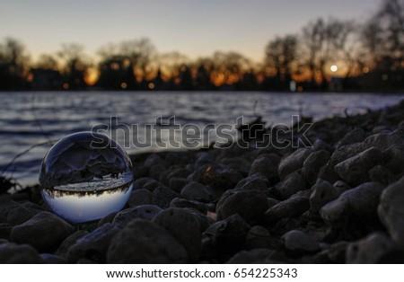 Crystal Ball at Lagoon Park #654225343