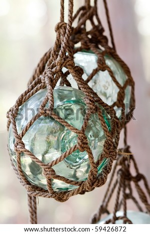 Crystal ball in the net