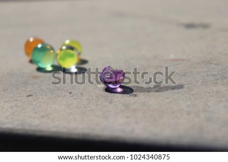 Crystal Ball Jelly ball & Water ball with Broken Crystal Ball #1024340875