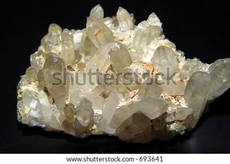 crystal mineral, quartz