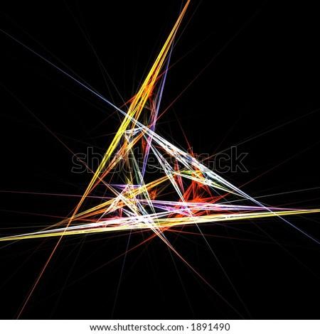 Crystal prism lights