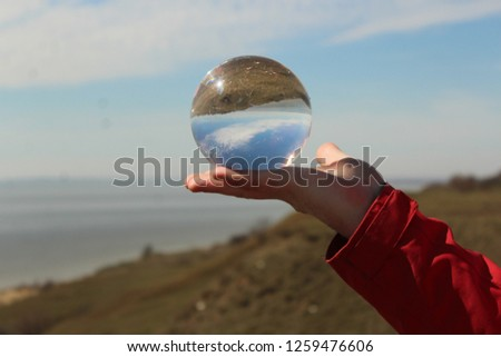 Crystal Sphere Ball #1259476606