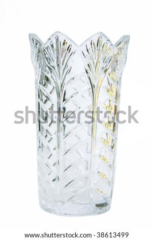 Crystal vase #38613499