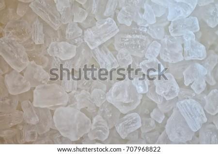 Crystals of salt #707968822