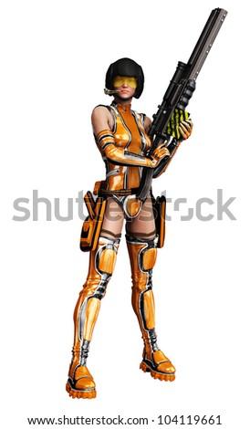 csi girl in darling got a gun