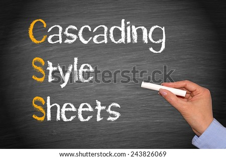 CSS - Cascading Style Sheets #243826069