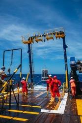 CTD rosette teacher, oceanographic tool, oceanographic boat research