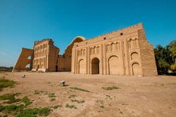 Ctesiphon, Iraq - Ktesifon Palace or Tak-ı Kisra -  Taq Kasra, Ctesiphon or 	Salman Pak was an ancient city, located on the eastern bank of the Tigris, and about 35 kilometres  southeast of  Baghdad.