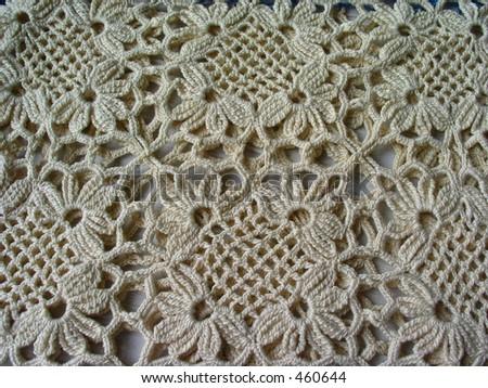 Cuadrados Crocheted - stock photo