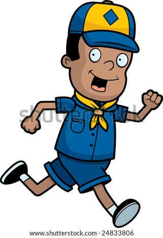 boy scouts symbol. stock photo : Cub Scout