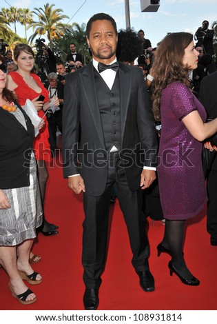 "Cuba Gooding Jr at the gala screening of ""The Paperboy"" in competition at the 65th Festival de Cannes. May 24, 2012  Cannes, France Picture: Paul Smith / Featureflash"
