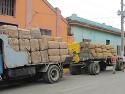Cuban truck feel with Cuban goods