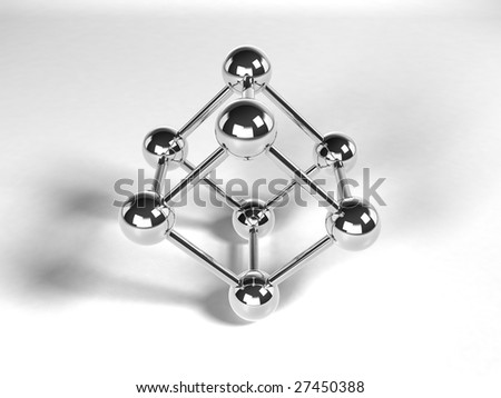 Cube from Chrome balls