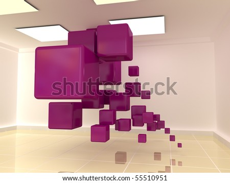 Cubes in the hall