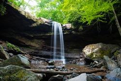 Cucumber Falls at Ohiopyle, Pennsylvania