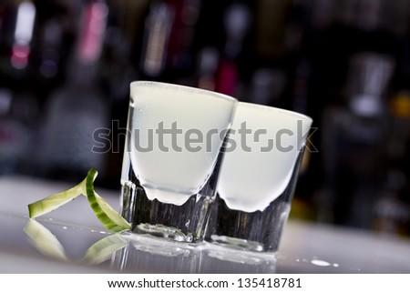 cucumber shots