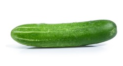 cucumber vegetable isolated on white background