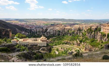 Cuenca in Castille La Mancha, Spain.